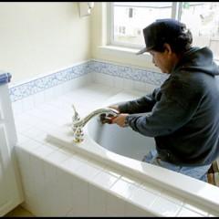 bathtub installtion