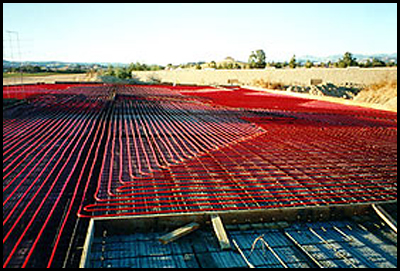 Sonoma Cutrer Vineyards Radiant Cooling System